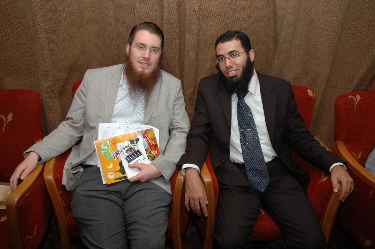 مع الداعية السويسري عبد الله نيكولاس